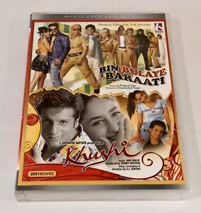2 Hindi / Indian movies - Bin Bulaye Barati / Khushi DVD NTSC All