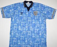 1990-1992 ENGLAND UMBRO THIRD FOOTBALL SHIRT (SIZE L)