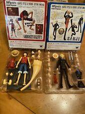Bandai Tamashii Nations S.H.Figuarts One Piece SANJI & Monkey D Luffy