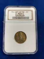 1944 D/S Philippines / USA 20 Centavos NGC MS66