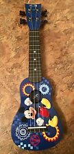 """Disney Junior Mickey Mouse Clubhouse Mini Guitar Blue """"First Act"""" Ukulele Kids"""