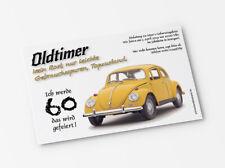 Lustige Einladungskarten Geburtstag Käfer mit Wunschtext  30 40 50 60 70 80
