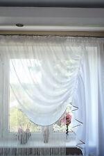 Rideau prêt à poser en voile Set Beau avec DE FILS Panneau AG14 fenêtre