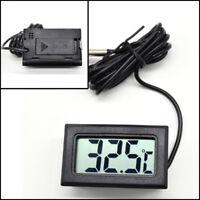 Termometro LCD Sonda Digitale per con Acquario Freezer Temperatura nuovo wn