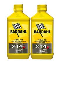 Bardahl XT4-S C60 Olio motore moto  10W40 4T - 2 Litri