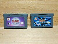 Yu-Gi-Oh GameBoy Advance Video Game Lot Eternal Duelist Soul & Worldwide Edition