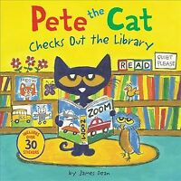 Pete the Cat Checks Out the Library, Paperback by Dean, James, Brand New, Fre...
