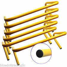 New BlueDot Trading Speed Training Hurdles (Pack of 6), 9-Inch Height, YELLOW