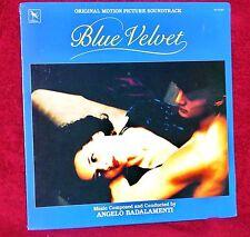 OST LP BLUE VELVET ANGELO BADALAMENTI 1986 VARESE SARABANDE SEALED MINT
