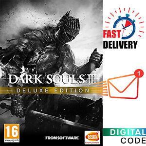 Dark Souls 3 III Deluxe Edition - PC Steam Game Digital Key - Global