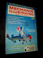 MECHANIX ILLUSTRATED Magazine MAY 1968 Verticle Take-Off Airliners