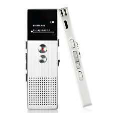 AGPtEK Portable USB Digital MP3 Music Player Voice Recorder & FM Radio Silver