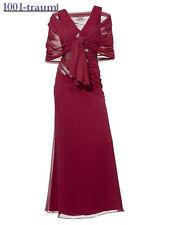 HEINE BLACK Evening Party Dress & Scarf   Size 16