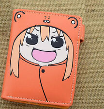 Japan Anime Himouto! Umaru-chan Cosplay Doma Umaru PU Button Wallet Purse
