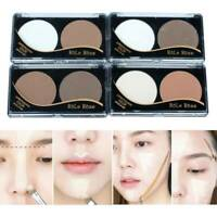 Highlighter Powder Bronzer Concealer Palette Face Contour Make Up Cosmetic