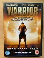 Warrior DVD 2011 Boxing / Sports Drama with Tom Hardy Joel and Edgerton
