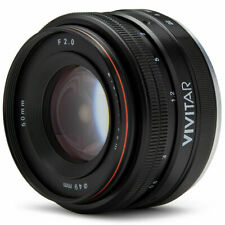50mm f/2.0 Lens for Sony E-Mount Mirrorless A6500 A6400 A6300 A6000 Camera