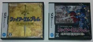 Nintendo DS Fire Emblem New Mystery of the Emblem & Shadow Dragon set Japan NDS