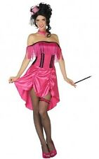 Déguisement Femme Cabaret XS/S 36/38 Costume Adulte Charleston Western Saloon