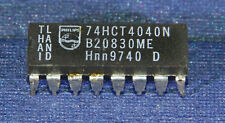 74HCT4040N Philips 12-STAGE BINARY COUNTER/DIVIDER Dip-16 1PC