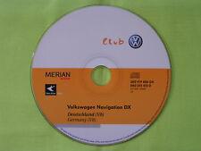 CD NAVIGATION DEUTSCHLAND 2009 V8 DX VW MCD MFD 1 RNS 2 RN-S2 GOLF PASSAT T4 T5
