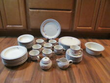 Noritake Dinnerware Pattern Tulip Magic Eight Five-Piece Settings Plus MINT