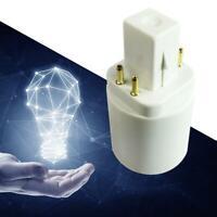 G24q to E27/E26/E14 Socket Base Screw LED Lamp Light Bulb Adapter Converter W1J0