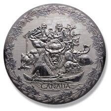 2007 Canada 1 Kilogram Silver Early Canada .9999 Fine