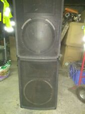 "300W disco speakers - 2 units 15"" drivers and separate horns NJD"