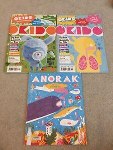 children magazines bundle okido and anorak new