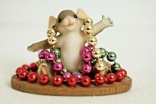 Charming Tails 82/113 Mardi Gras Mouse - Limited Numbered Edition