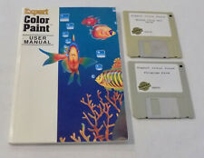 Expert Color Paint Learning Games Macintosh Floppy Discs Vintage Computer