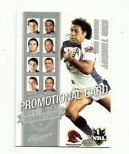 Brisbane Broncos 2009 Season NRL & Rugby League Trading Cards