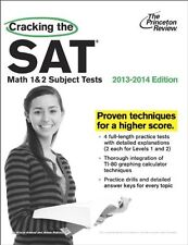 Cracking the SAT Math 1 & 2 Subject Tests, 2013-2014 Edition (College Test Prepa