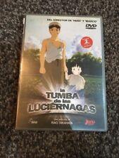 LA TUMBA DE LAS LUCIERNAGAS HOTARU NO HAKA DVD 2 DISCOS MÁS POSTALES