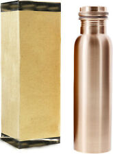 indian handmade pure copper serving water bottle ayurveda benefit drinking flask