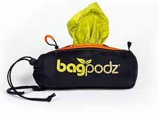 BagPodz - Reusable Grocery Bag and Storage System Spring Green (contains 10)