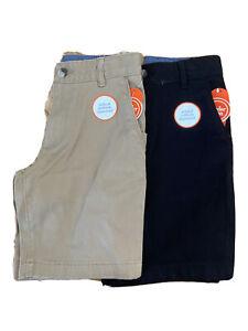 Wonder Nation Boys School Uniform Shorts Lot of Two Size M (8)