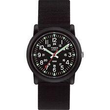 "Timex T18581, Unisex Size ""Camper"" Black Fabric Strap Watch, T185819J"