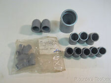 Lot of (16) Durapipe ABS, Glynwed, & GF PVC CVPC 45° & 90° Elbows Pipe Fittings