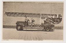 London postcard - London Fire Brigade. Turntable Ladder Pump