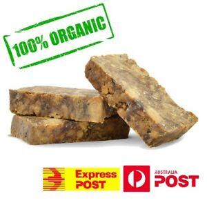 Organic African Black Soap Natural Raw Nubian Pure Acne Treatment Hand Made