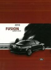 2010 Ford Fusion Owners Manual User Guide Reference Operator Book