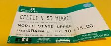 More details for celtic f.c - match tickets - home - scottish cup - st mirren - 25-01-2003