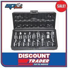 "SP Tools Oil Drain Plug Key Set 3/8"" 18 Piece SP20215"