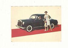 ⚙3006⚙ Advertising Postcard 1960s Mercedes-Benz 180D