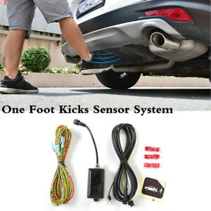 Car Power Trunk Foot Kicking Sensor Kit Auto Tailgate Contactless Opening Device