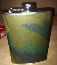 Camouflage 8oz. Flask - Stainless Steel Hip Drinking Alcohol Liquor by Maxam