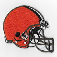 Cleveland Browns Helmet Iron on Patches Embroidered Badge Patch Applique Sew FN