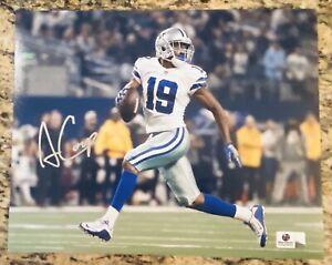 Amari Cooper Signed Autographed 8x10 Photo Dallas Cowboys - COA GV 925639